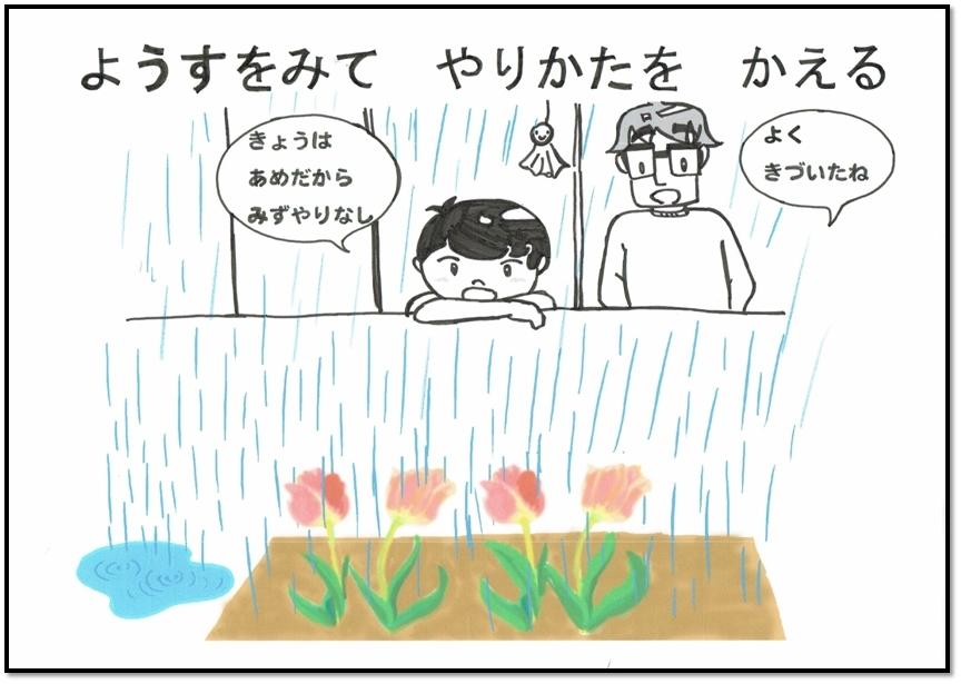 水やりA シンプル